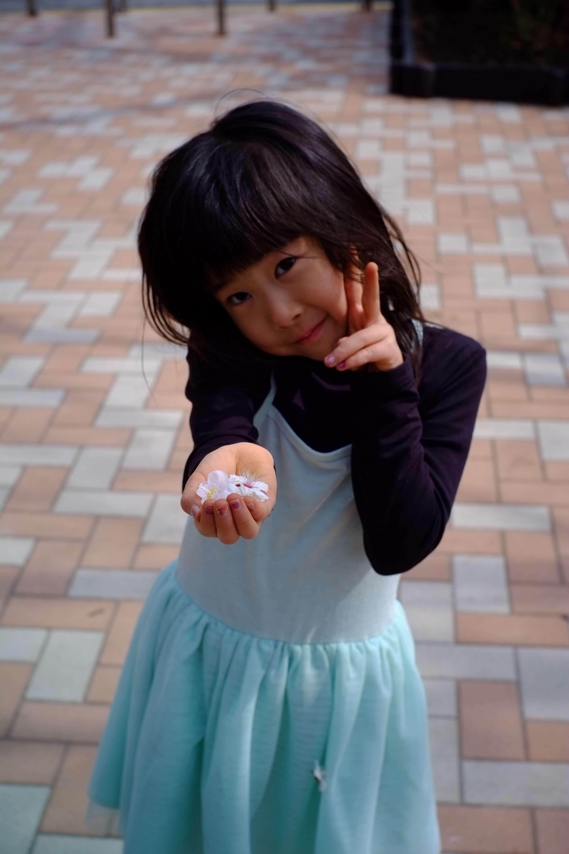 子供の写真。